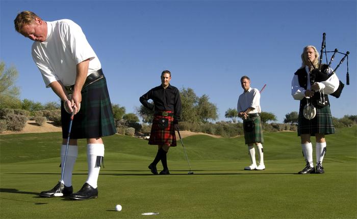Про Шотландию. Романтика, Трава, Бараны, Гольф, Замок, Длиннопост