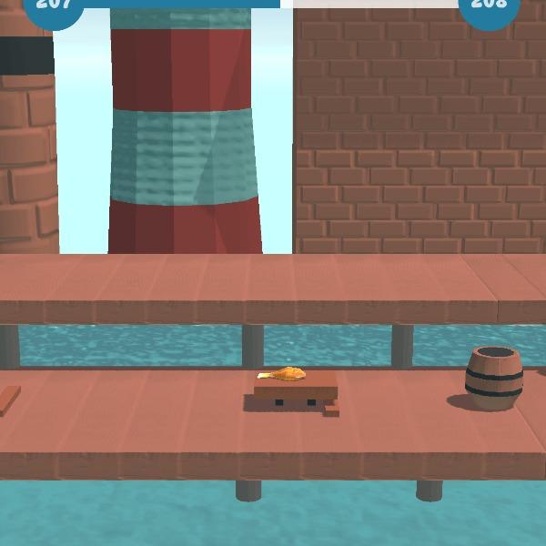Fish Flip — гиперказуалочка для Android Gamedev, Indiedev, Мобильные игры, Казуальные игры, Рыба, Гифка, Видео, Длиннопост