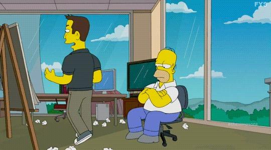 Симпсоны на каждый день [28_Июня] Симпсоны, Каждый день, Илон Маск, Spacex, Гифка, Длиннопост