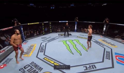 Самый быстрый НОКАУТ в истории UFC. ПЯТЬ СЕКУНД! UFC, Нокаут, Хорхе Масвидаль, Бен Аскрен, Быстрый, Гифка, Видео