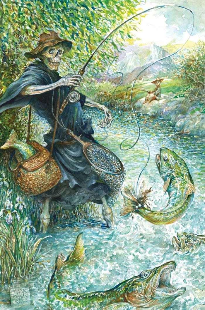 Сказка «Звонок с того света». Жизнь, Смерть, Сказкотерапия, Сказка, Сказка для взрослых, Пишу что хочу, Об этом стоит подумать, Длиннопост