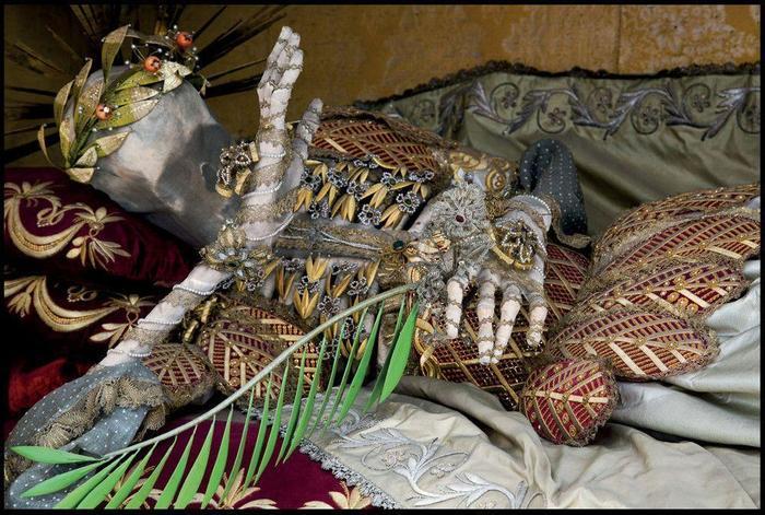 11 безымянных пальцев Иоанна Крестителя, дефицит святых мощей и нарядные трупы. Длиннопост, История, Реальная история из жизни, История моды
