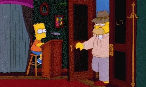 Симпсоны на каждый день [21_Августа] Симпсоны, Каждый день, Пожилые, День пожилого человека, Гифка, Длиннопост