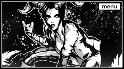 Gingershadow: Ashes to Ashes Owleron, Gingershadow, Gamedev, Визуальная новелла, Стилизация, Комиксы, Metal, Рок, Гифка