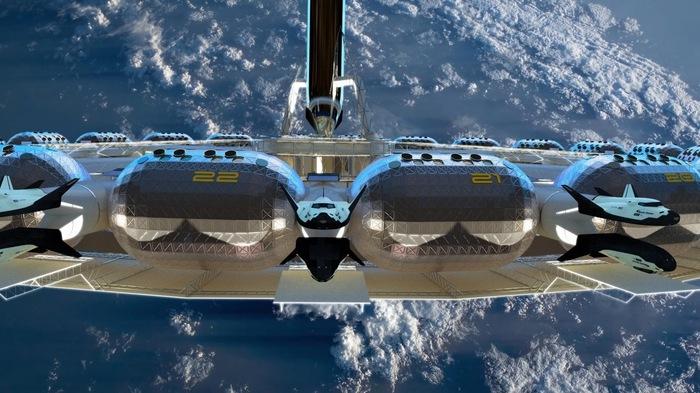 Стартап Gateway Foundation обьявил о намерении создания космического отеля к 2025 году. Космос, Космическая станция, Стартап, Длиннопост