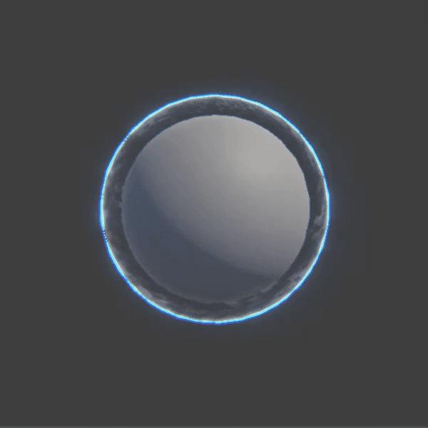 Магия шейдеров 15: Шейдер силового поля/щита для космосимов Shadermagic, Coremission, Шейдеры, Магияшейдеров, Гифка, Эффект, Визуальные эффекты, 3D