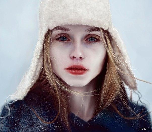 Красивые фото девушки лены