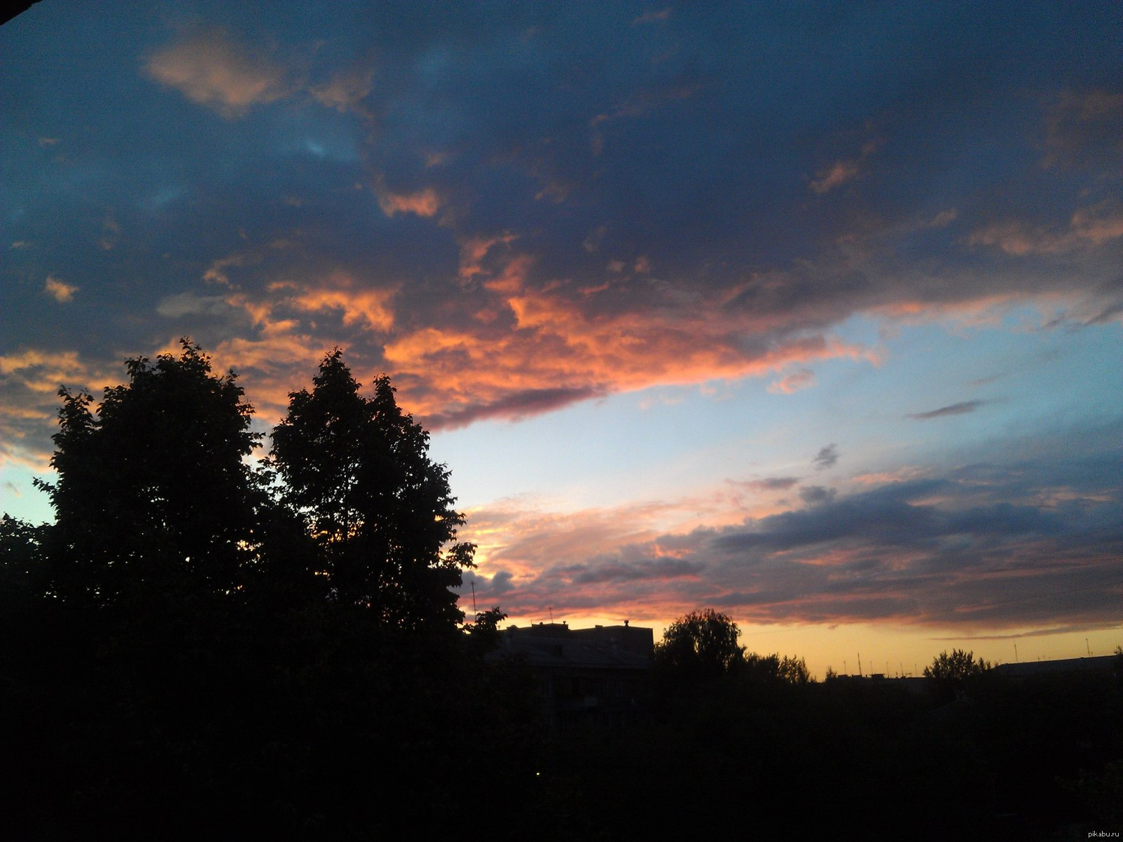 Как на телефон сфотографировать закат