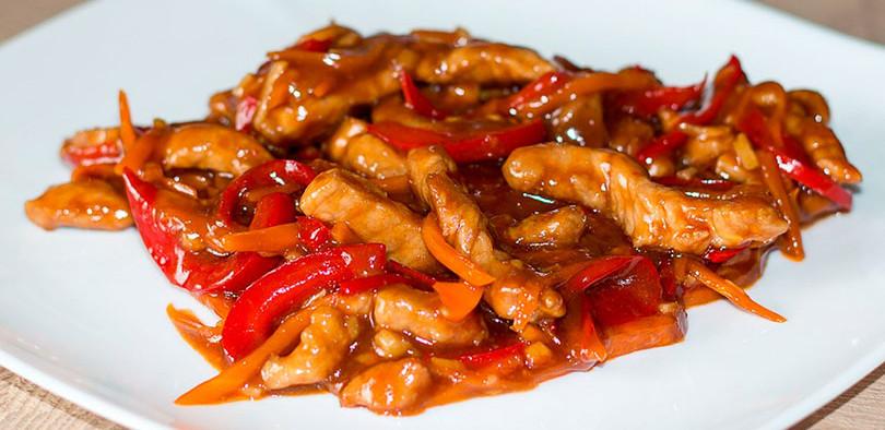 Мясо кисло сладкое по китайски