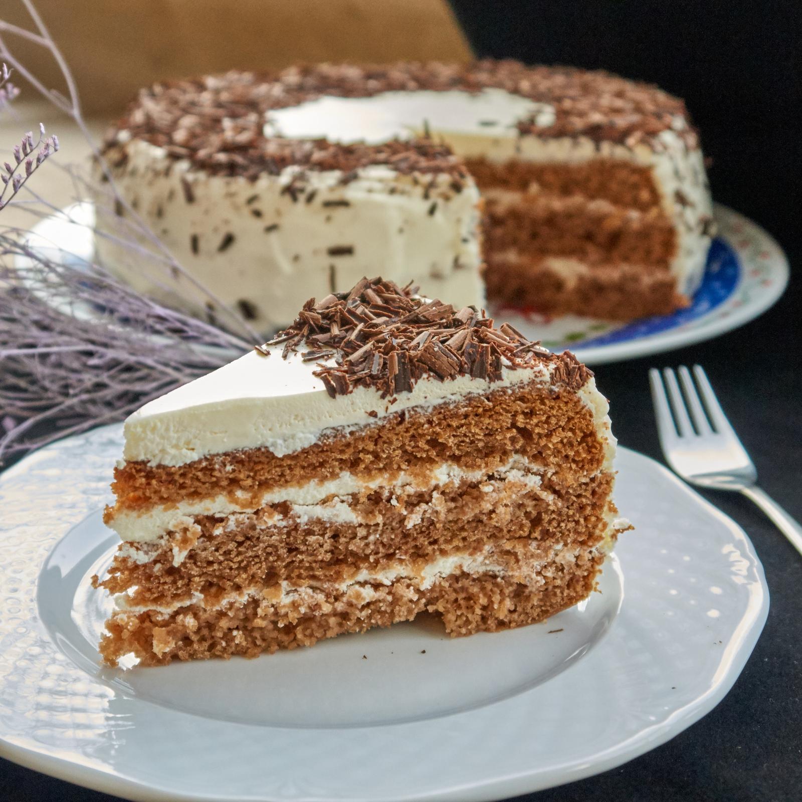 самый пропитанный торт сметанник рецепт с фото