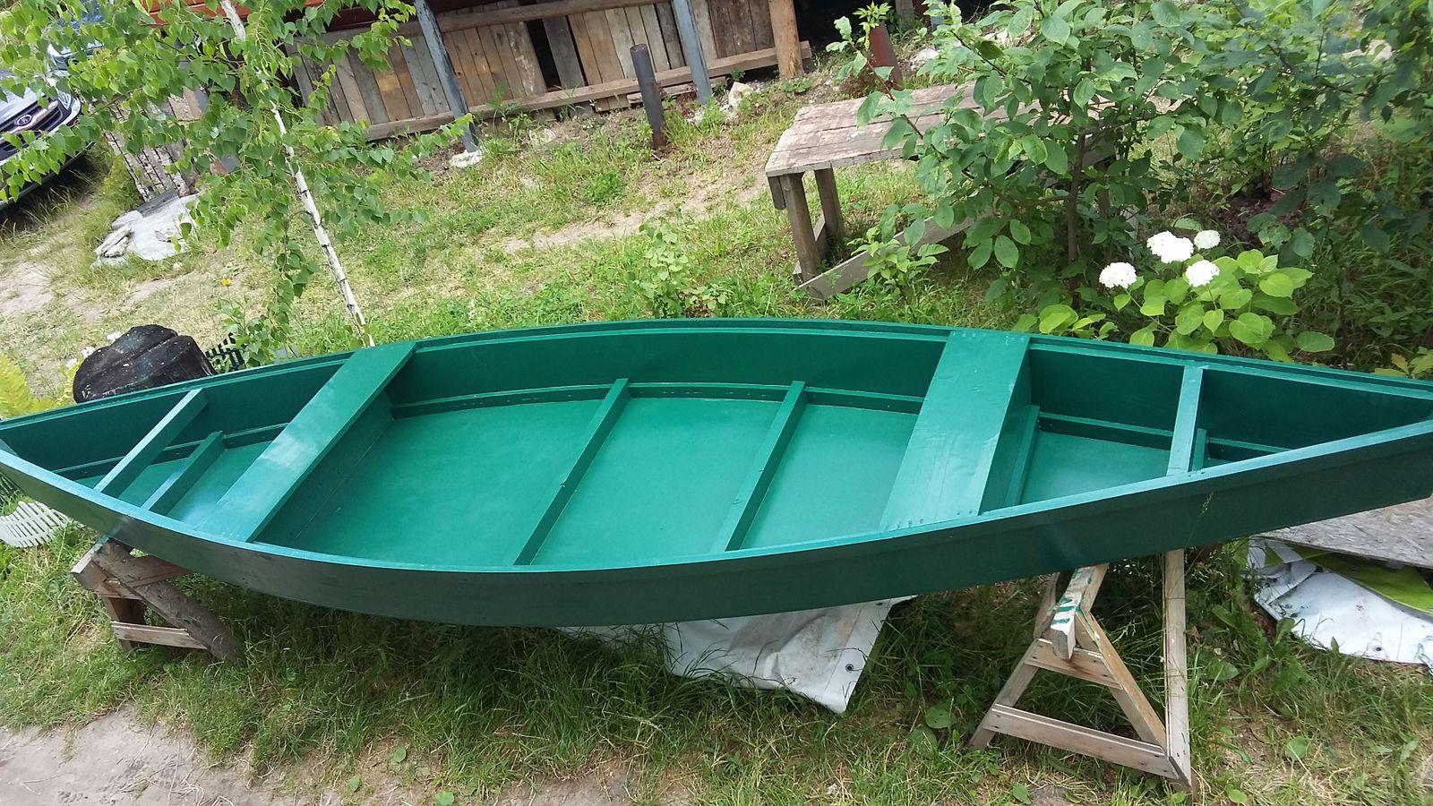 Лодка плоскодонка своими руками
