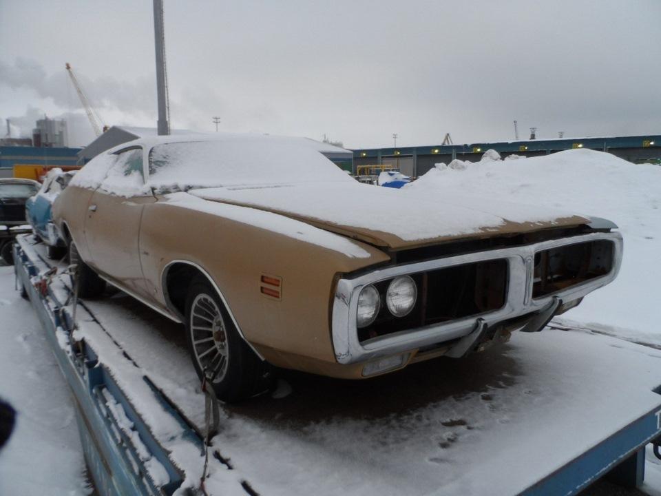 Реставрация Dodge Charger 1971