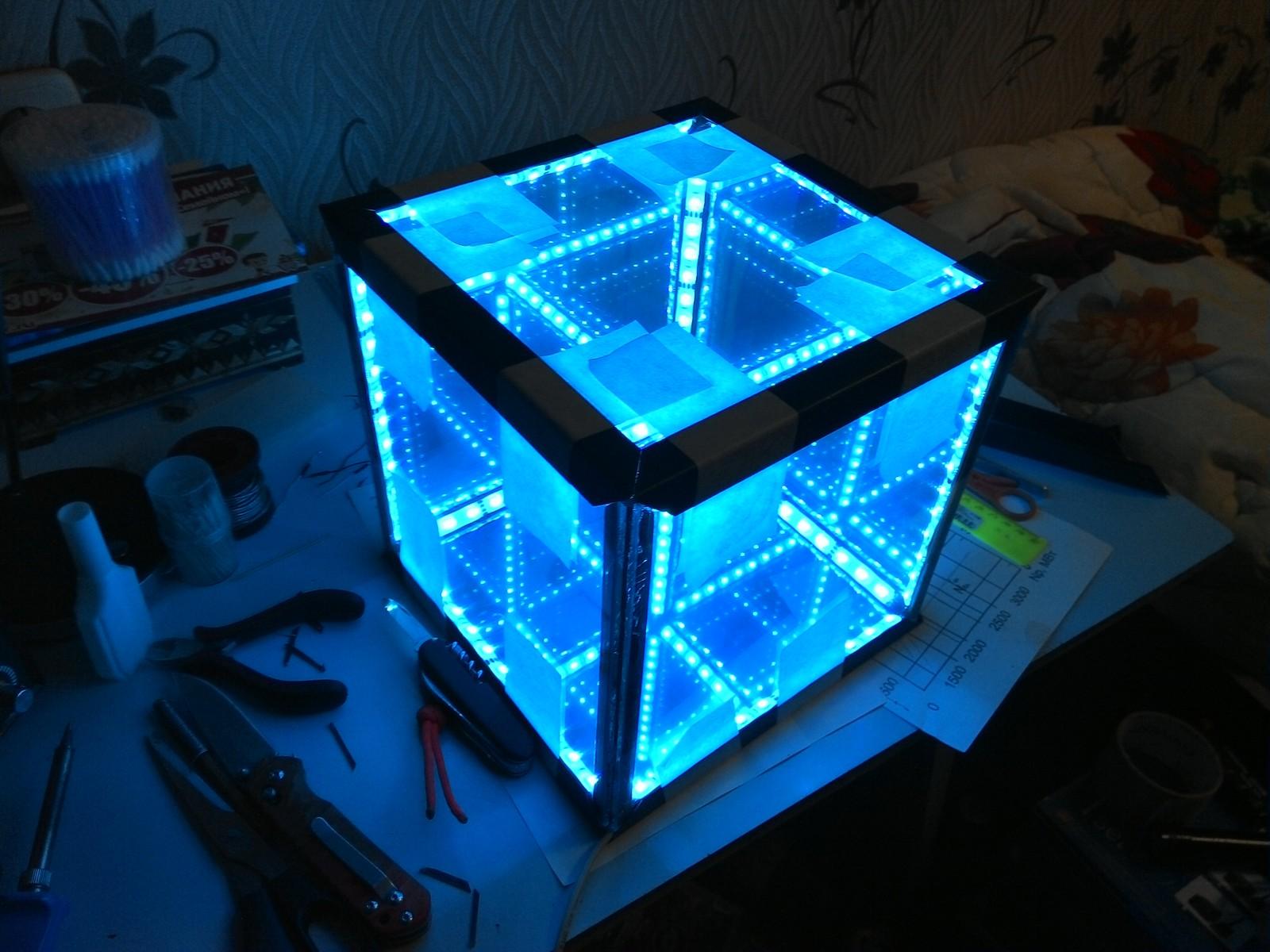 Как сделать бесконечный кубик