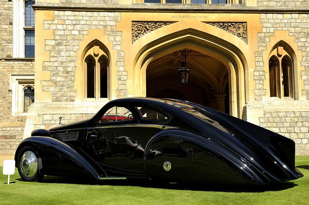 Rolls Royce Phantom I Jonckheere Phantom, Jonckheere, автомобиль, кузова, этого, владельцев, который, сделано, более, весьма, после, долгое, время, находился, Rolls, должной, реставрации, частных, состоянии, Сейчас