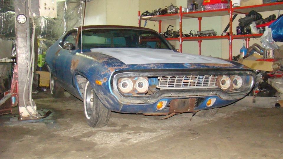 Реставрация автомобиля Plymouth Roadrunner