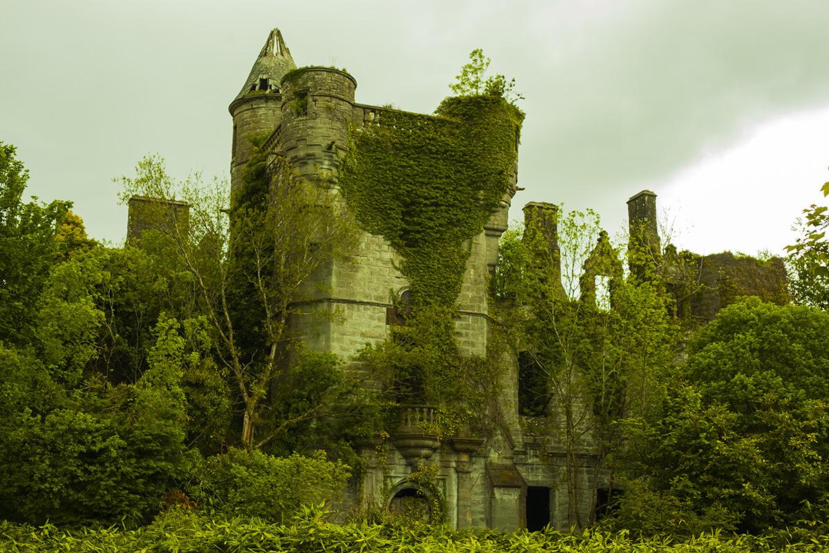 Картинки заброшеные замки