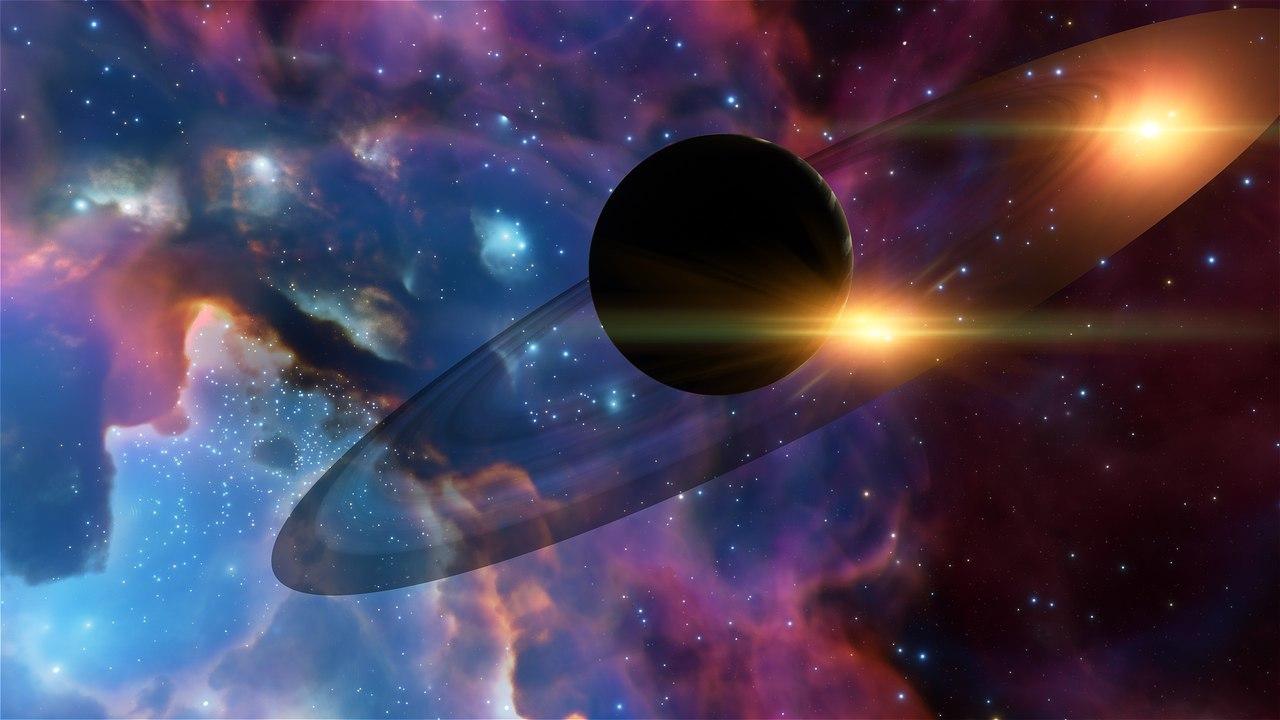 Обои Бездна, пустота, планеты, туманность. Космос foto 17