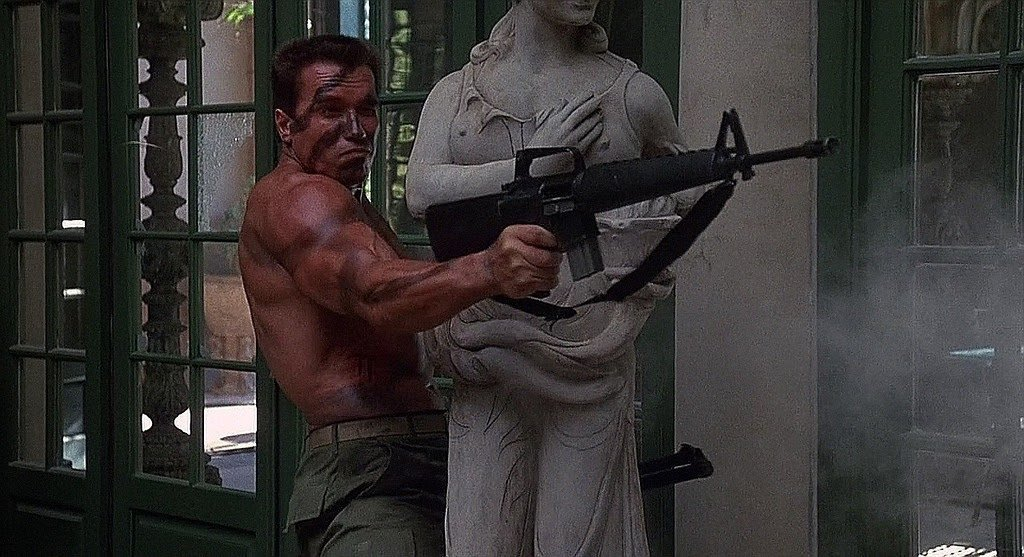 Арнольд шварценеггер с бревном на плече фильм гарри поттер фото со съемок