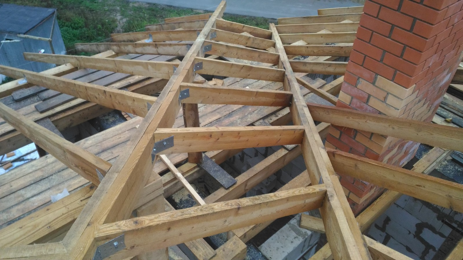 Как строить крыша своим рукам
