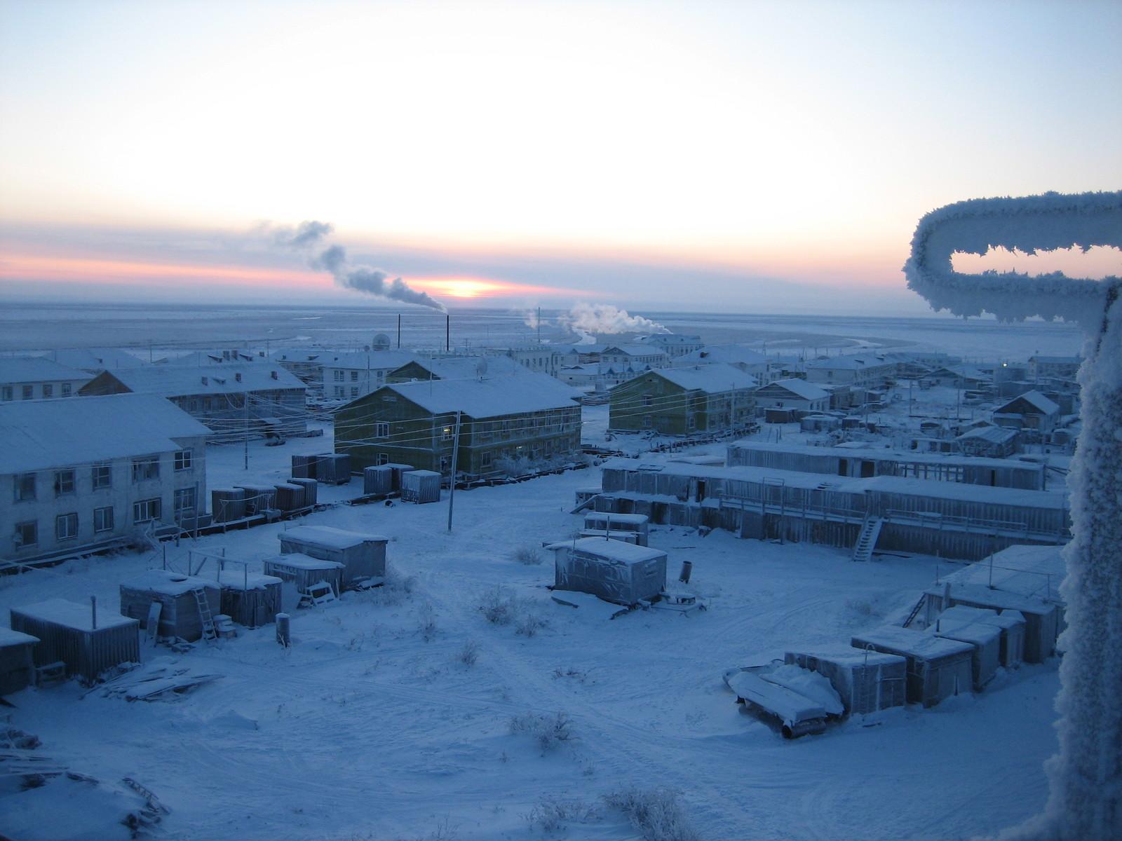 Секс полярная станция
