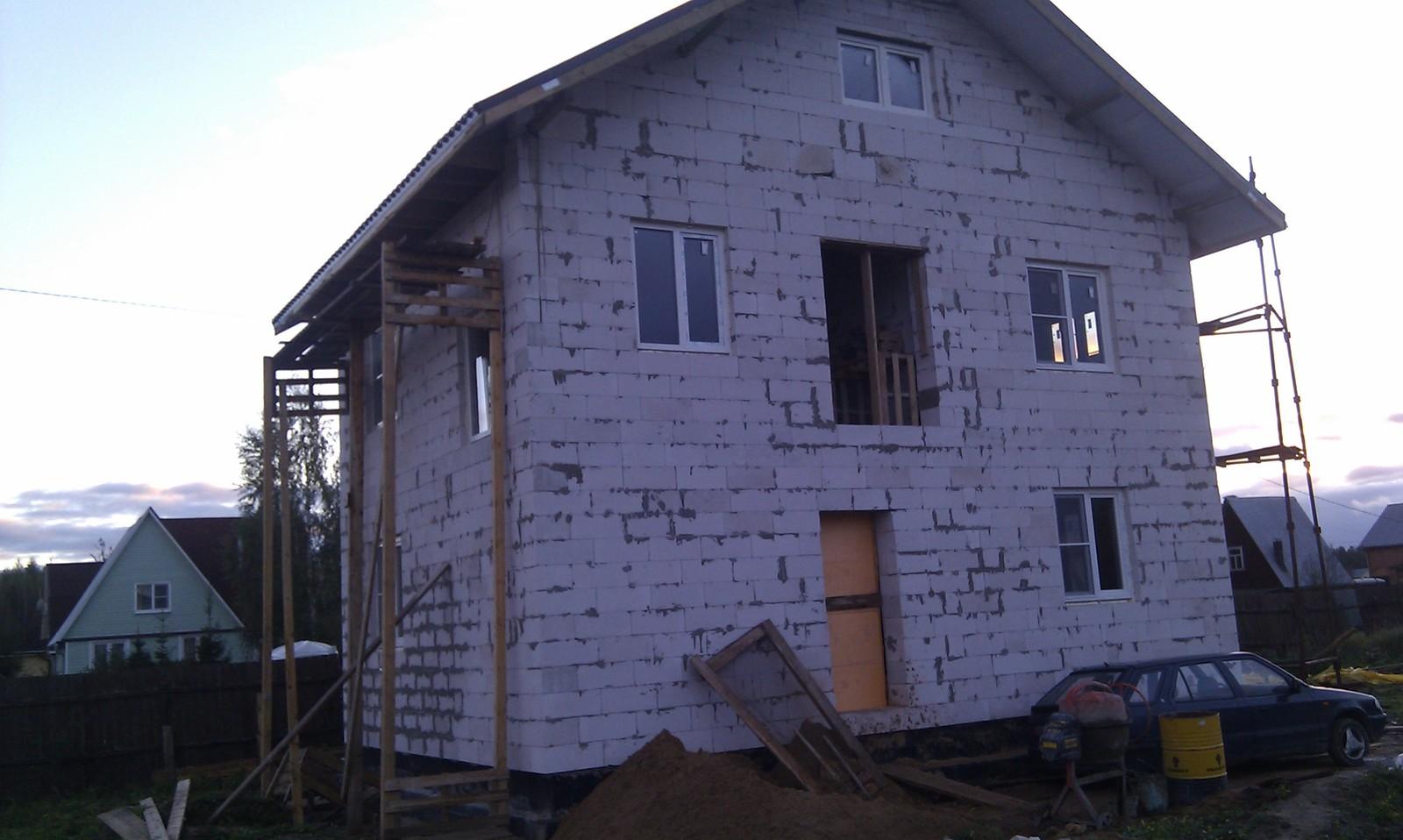 Как построить дом своими руками. Часть 2