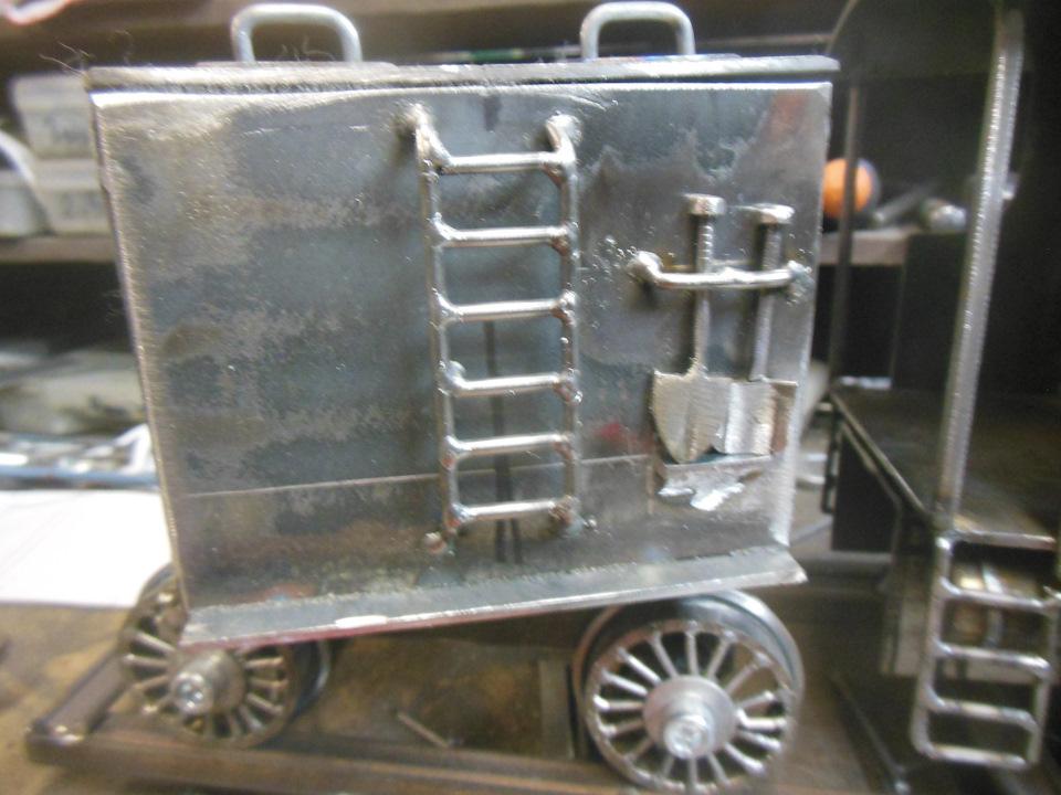 Модель паровоза своими руками мастерская