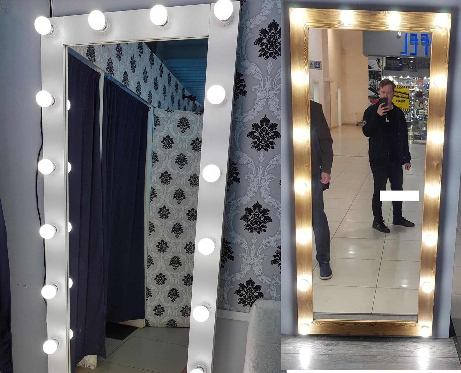 Гримерное зеркало с лампочками своими руками фото 601