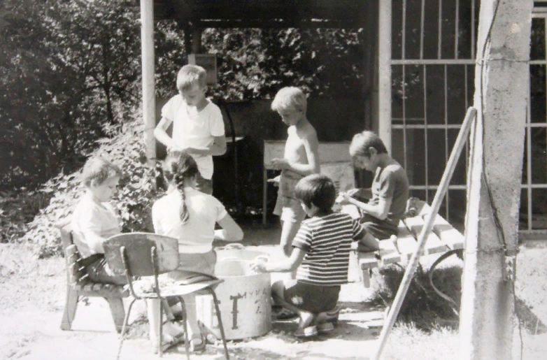 Воспоминания из детства сиськи