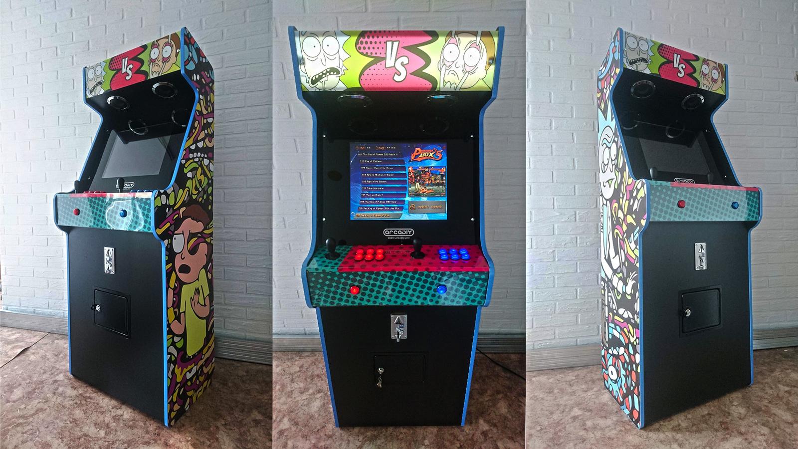 Сборка аркадного автомата