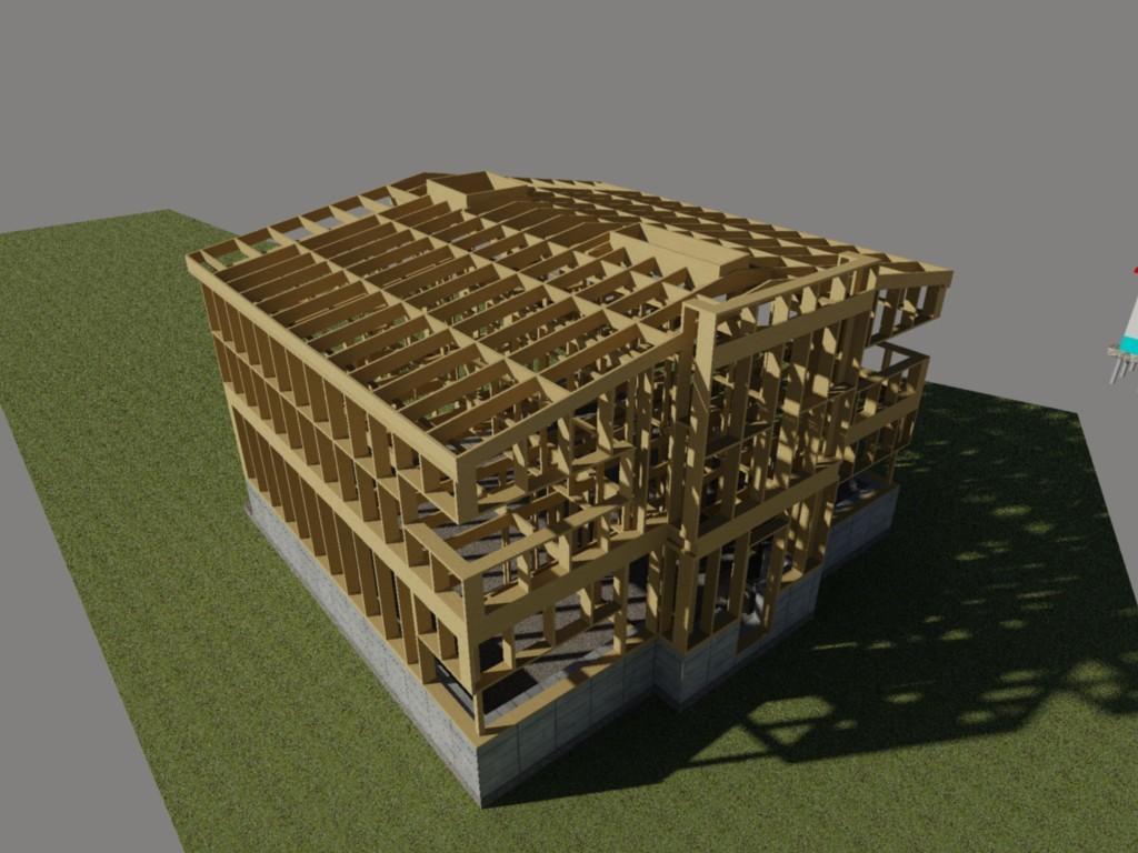 Каркасный дом своими руками дом