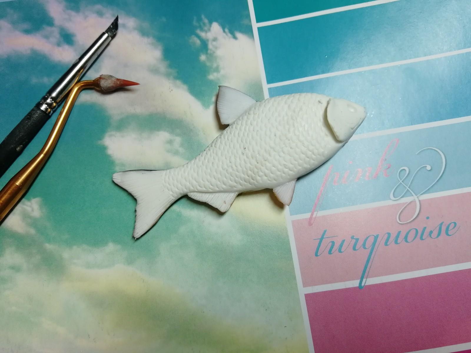 Обои профиль, рыбка, холст. Разное foto 14
