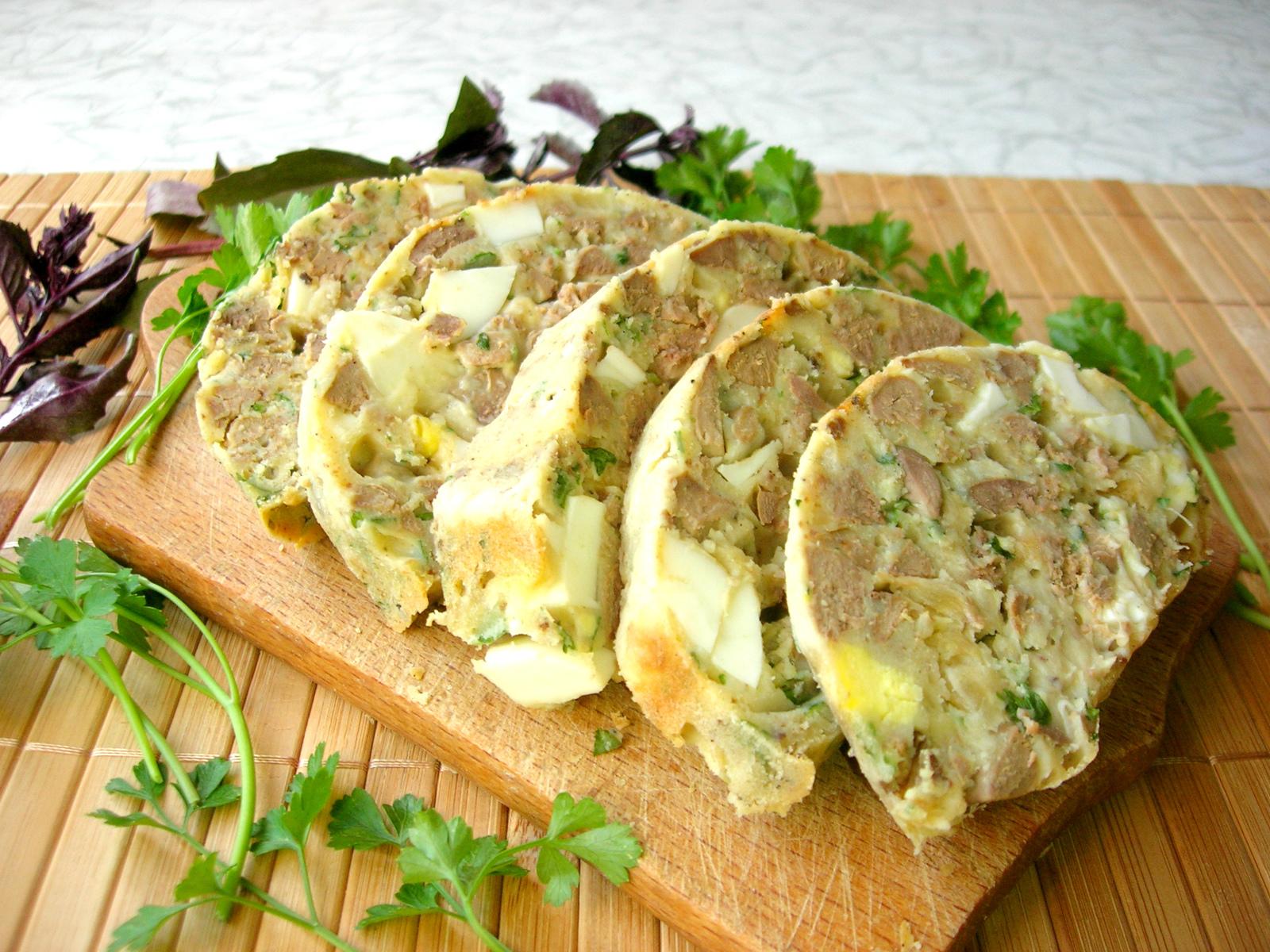 Румынский дроб из куриной печени - просто, сытно и вкусно