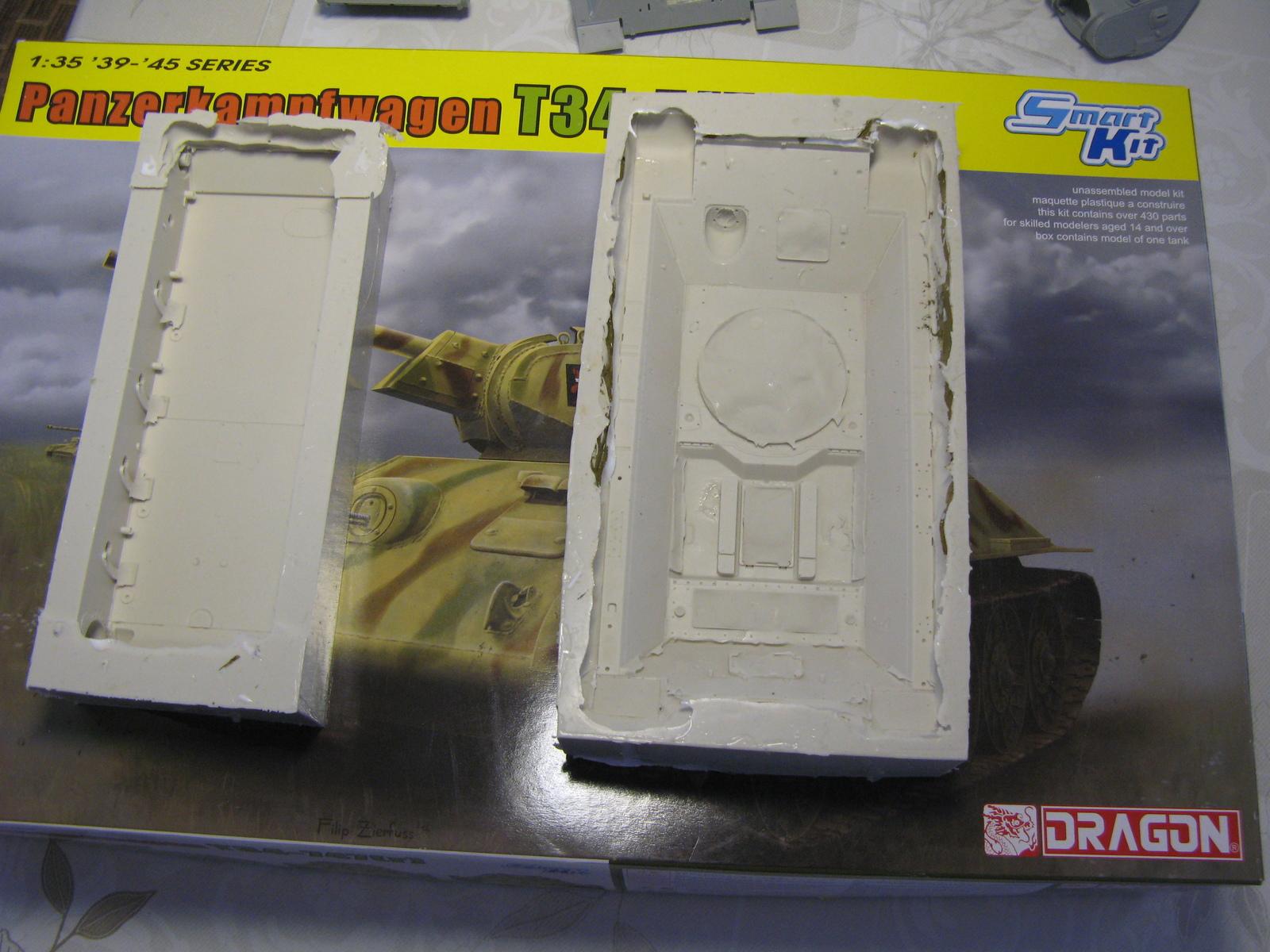 Т-34 из старой коробки