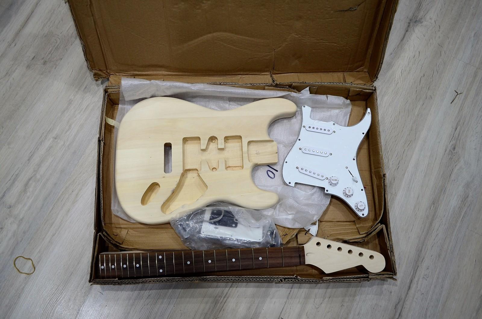 Как собрать гитару из алиэкспресса