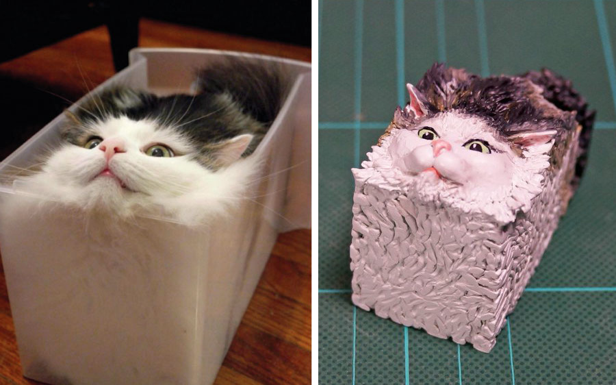 Фигурки из мемов про животных