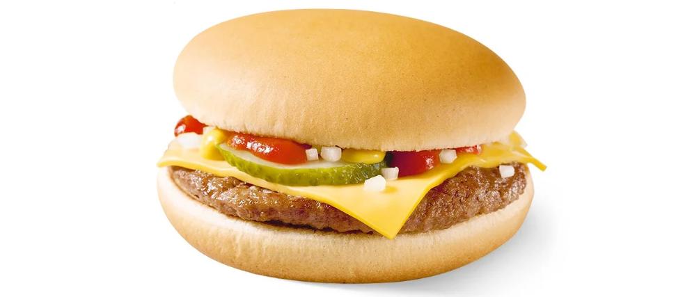 Чизбургер - самый популярный бургер