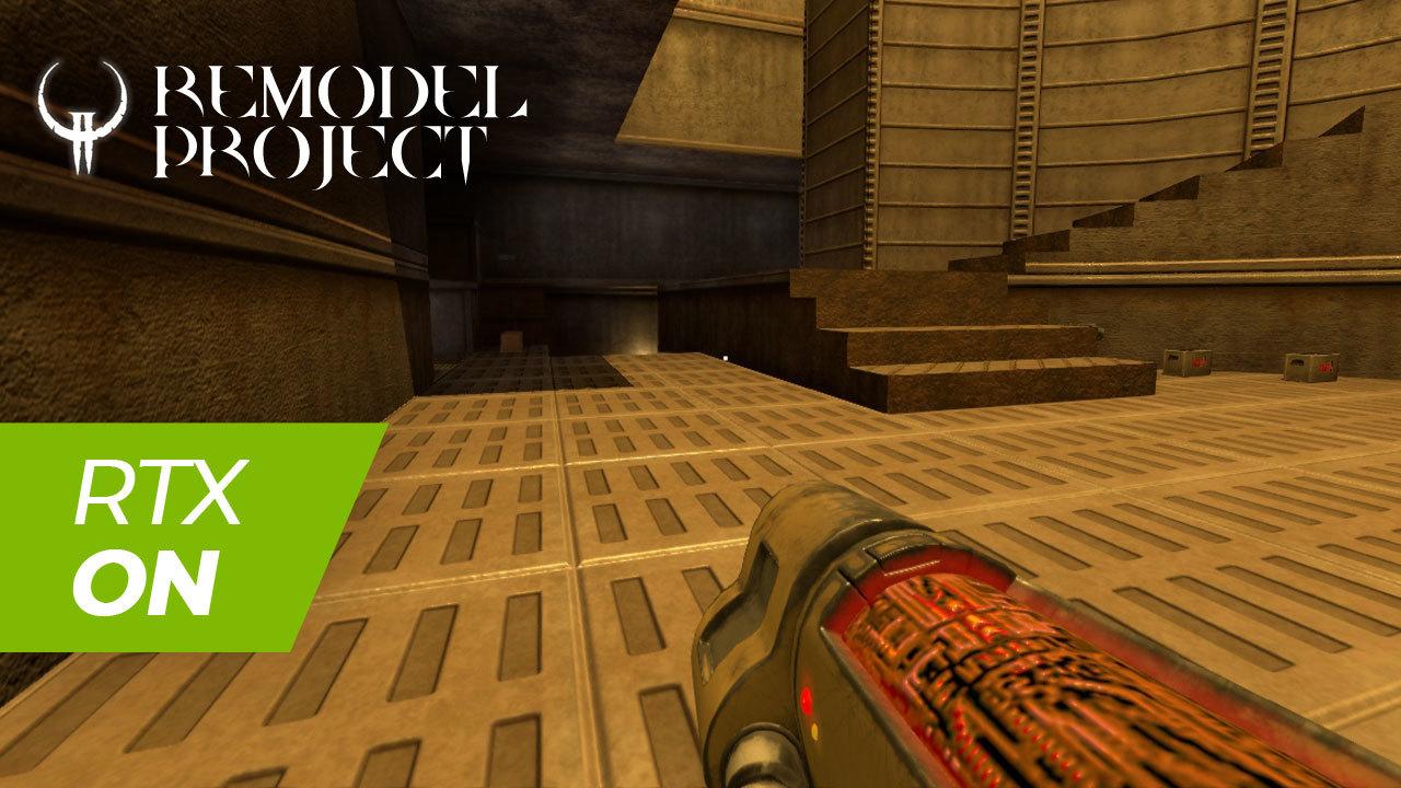 Quake 2 RTX и обновленные модели оружия