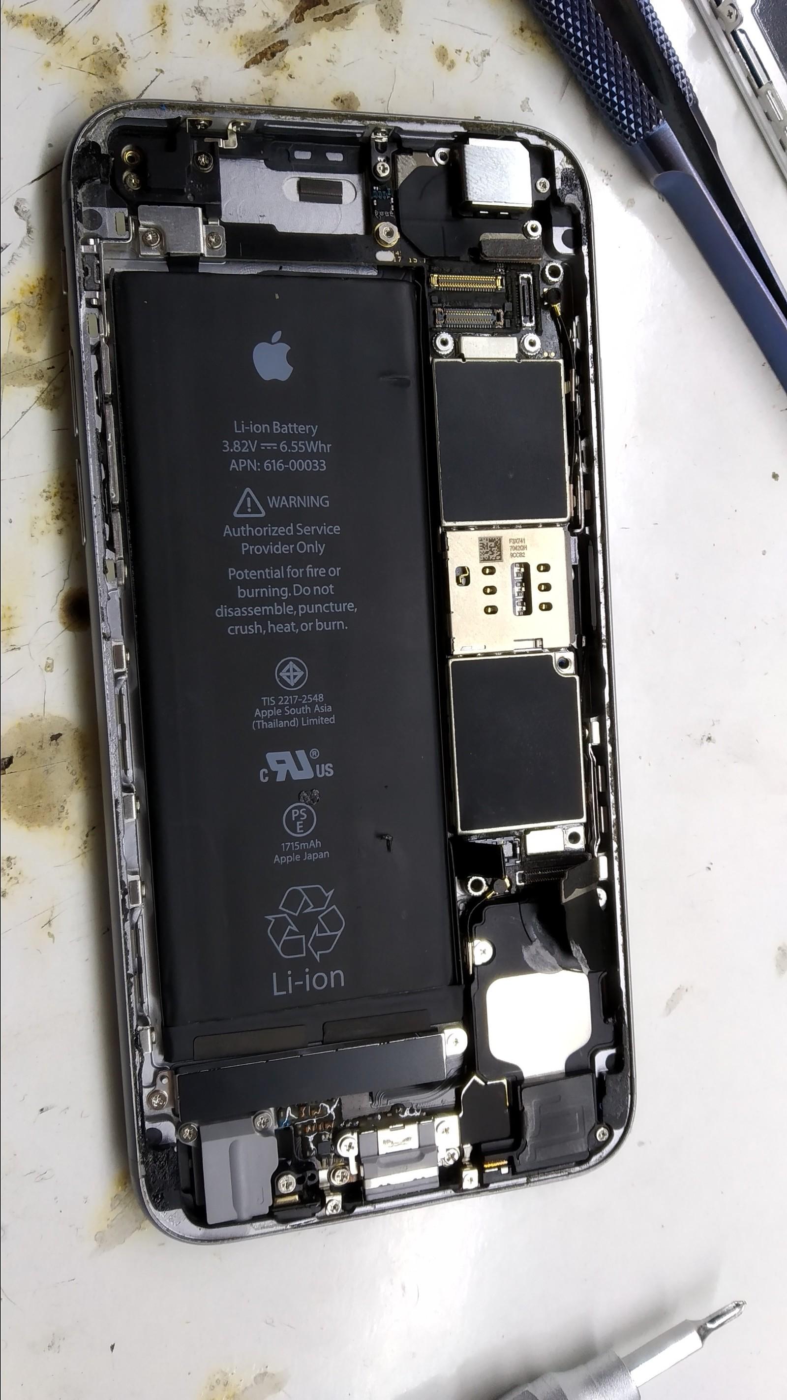 iphone 6s замена wifi