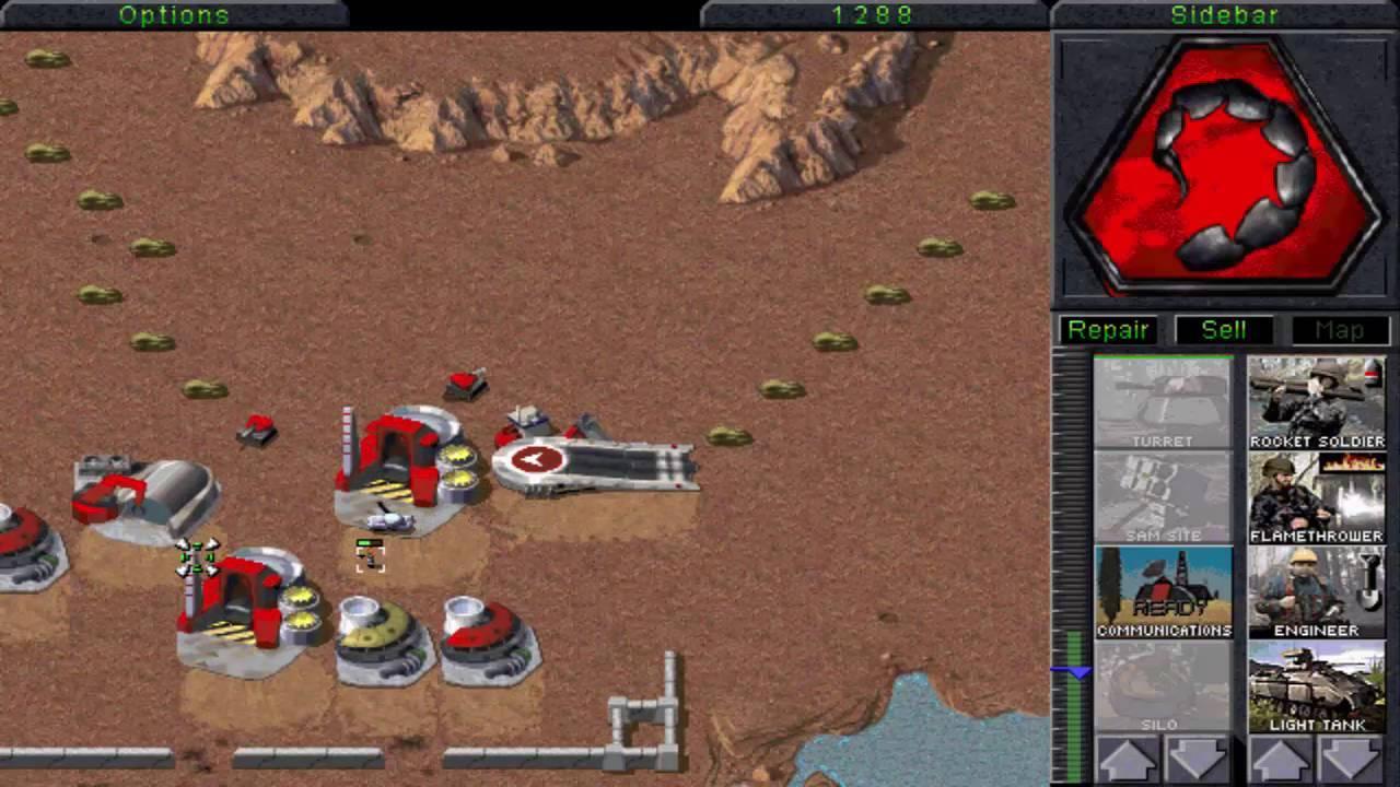 Command And Conquer: Tiberian Dawn - в браузере