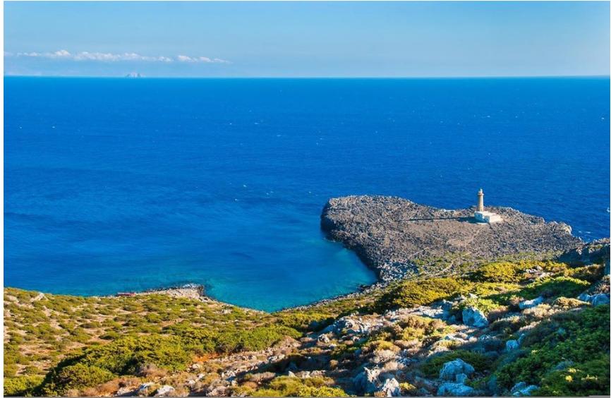 картинка фотография курорта Андикитира, остров в Греции